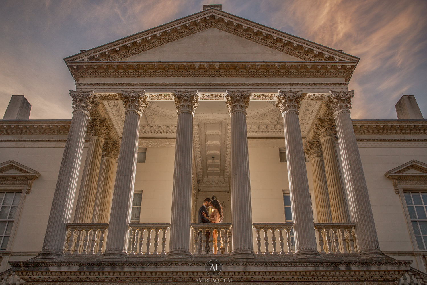 Hina and Raza at Chiswick House