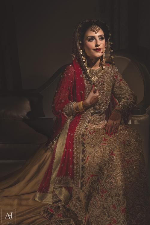 Saba on her wedding day