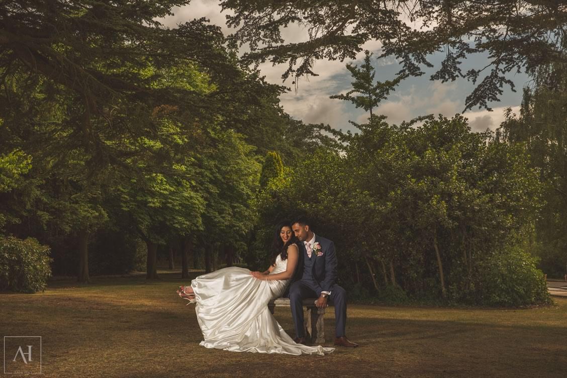 amir haq bride and groom