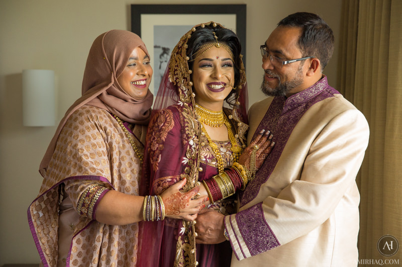 Nazifa and parents